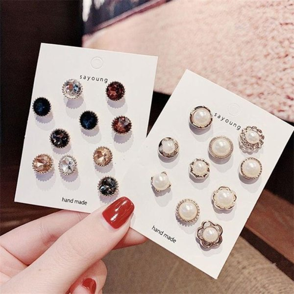10pcs Button Brooch Close Neckline Decorative Brooch Anti light Artifact Small Pin Collar Buckle Fixed Clothes