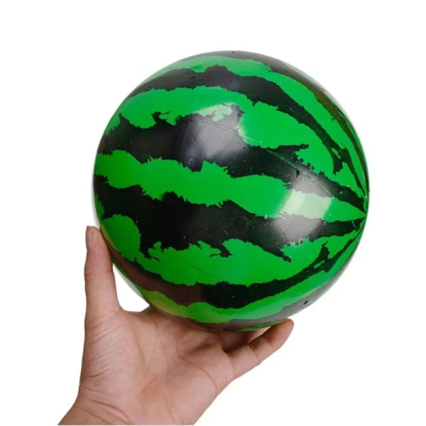 Creative Elastic Ball Simulation Watermelon Rubber Ball Beach Swimming Pool Game Early Education Gift Children s