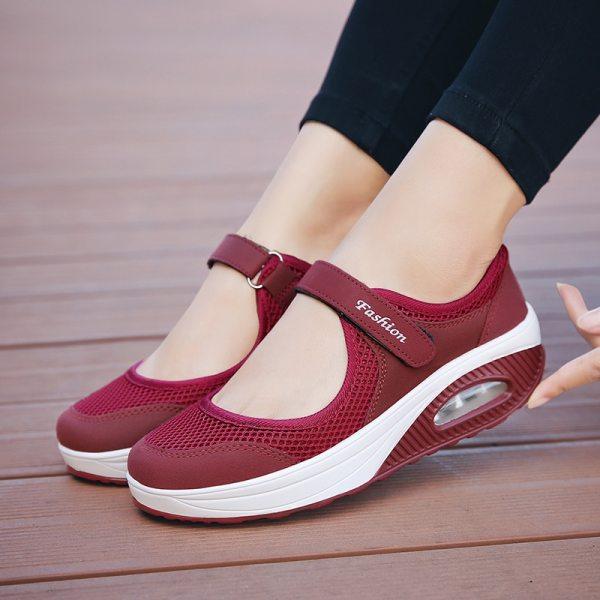 Fashion Women Shoes Sneakers Mesh Light Women Casual Shoes Breathble Women Vulcanized Shoes Casual Sneaker Zapatillas