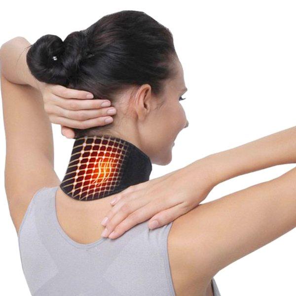 Health Care Neck Support Massager 1Pcs Tourmaline Self heating Neck Belt Protection Spontaneous Heating Belt Body