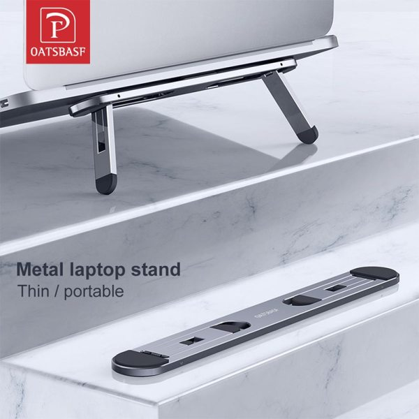 Oatsbasf Laptop stand suporte notebook tablet accessories macbook pro stand Mini Foldable laptop Portable holder Cooling