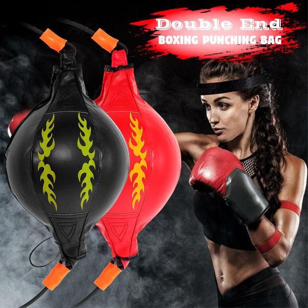 Punching Ball PU Pear Boxing Bag Reflex Speed Balls Muay Thai Punch Boxe Fitness Sports Equipment
