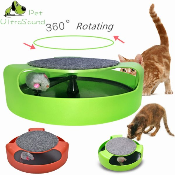 ULTRASOUND PET Cat Toy Mouse Crazy Training Funny Toy For Cat Playing Toy with Mice Cute
