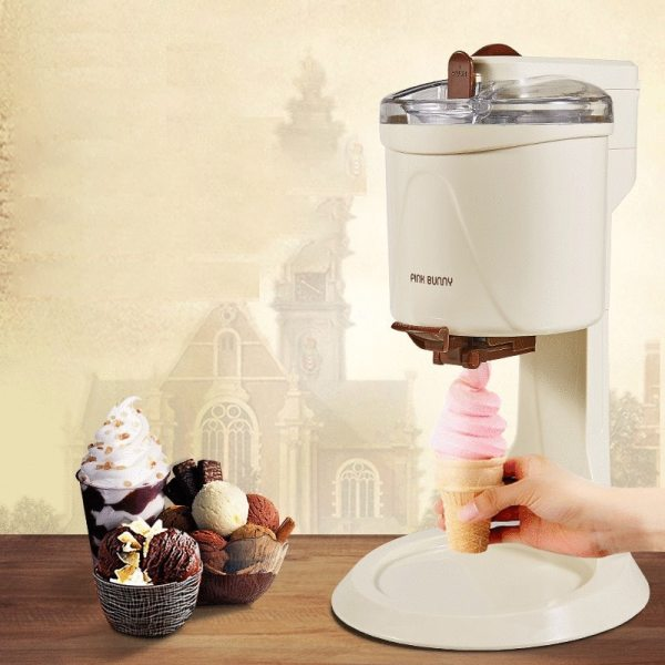 220V Machine Icecream Fully Automatic Mini Fruit Ice Cream Maker For Home Electric DIY Kitchen Maquina