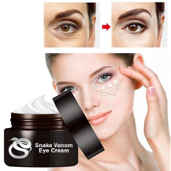 30g Snake Peptide Eye Cream Smooth Fine Lines Lifting Firming Skin Anti Removal Dark Circle Eyes