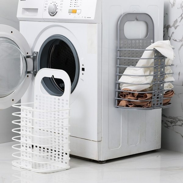 Laundry Basket Folding Storage Basket Laundry Hamper for Dirty Clothes Toy Organizer Picnic Baskets Wall mounted