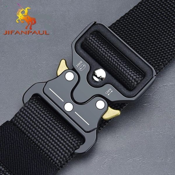 Men s Belt Army Outdoor Hunting Tactical Multi Function Combat Survival High Quality Marine Corps Canvas