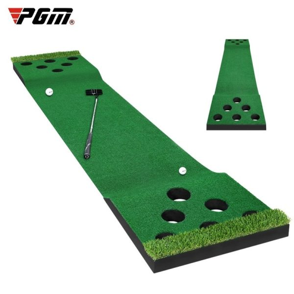 PGM Golf Putting Trainer Indoor Outdoor Multi hole Trainer Portable Auxiliary Trainer Office Home GL018