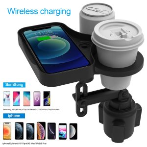 4 in 1 Cup Holder Expander Adapter Car Cup Holder