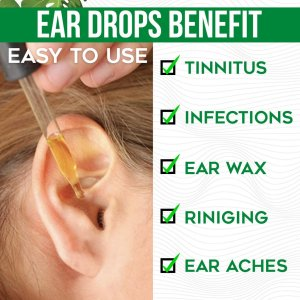 Ear Ringing Relieving Ear Drops Treatment