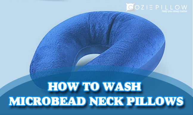 how to wash microbead neck pillows a complete guide