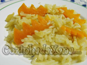 Arroz de cenoura