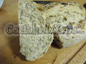 Pão de cereais na MFP