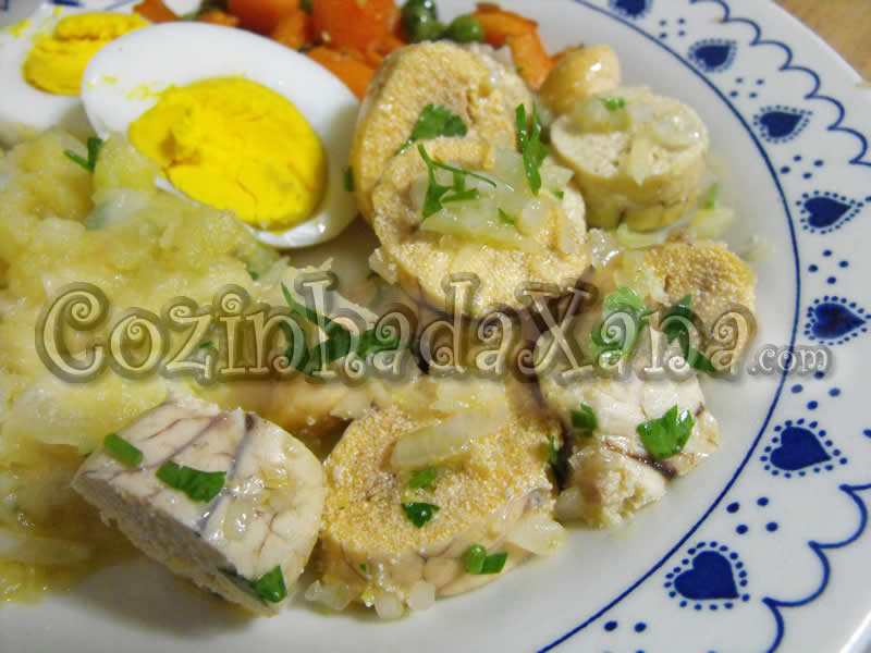 Salada de ovas Algarvia (prato típico de Olhão)