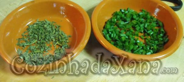 Secar e acondicionar ervas