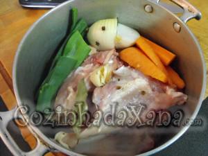 Como fazer Caldo de galinha ou frango