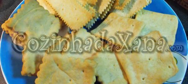 Cream crackers (como fazer)