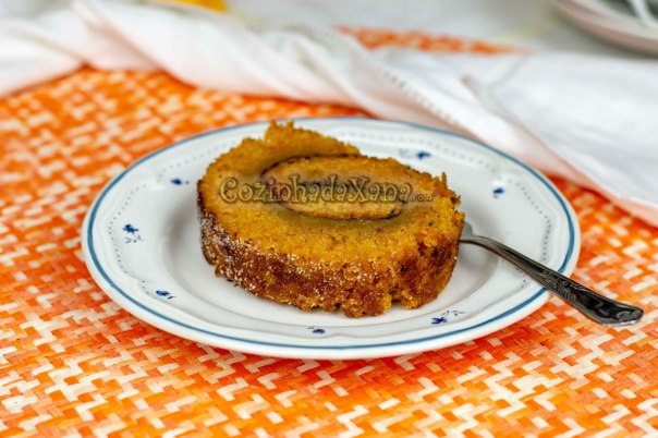 Torta de cenoura húmida