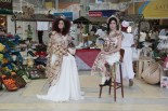 Moda: O designer Jeferson Ribeiro criou looks com artesanato do Mercado.