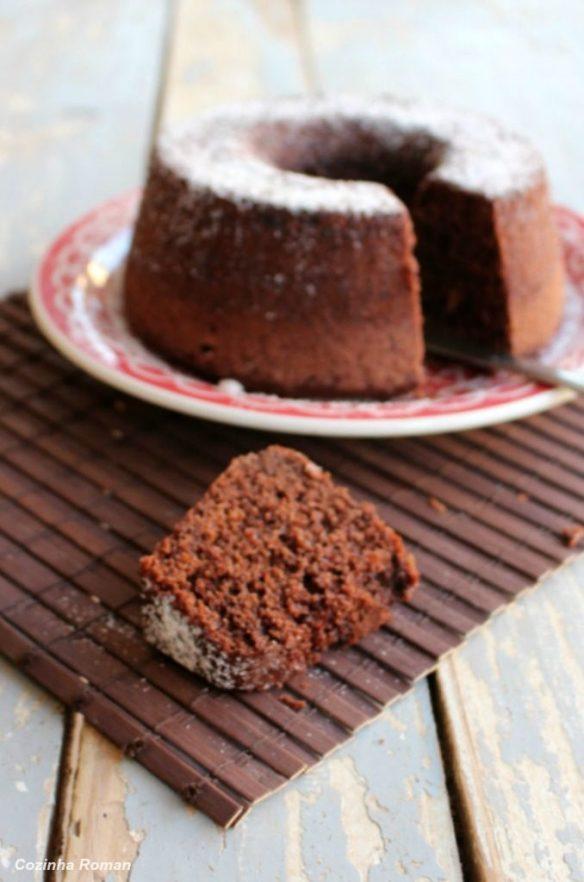 bolo de chocolate com café
