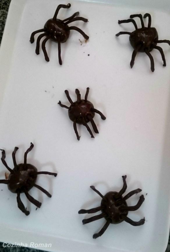 Aranhas de brigadeiro