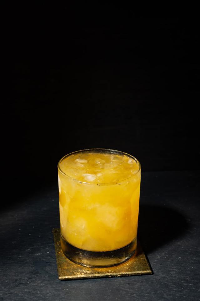 whiskey com laranja