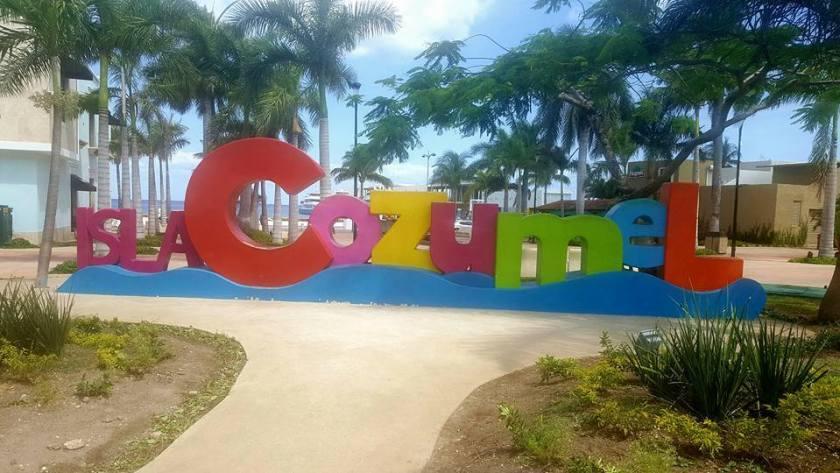 Cozumel My Cozumel Isla sign image