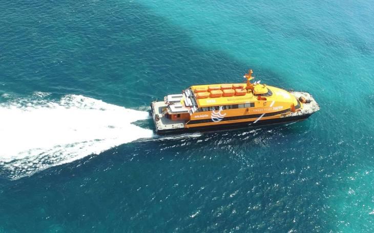 Cozumel winjet ferry