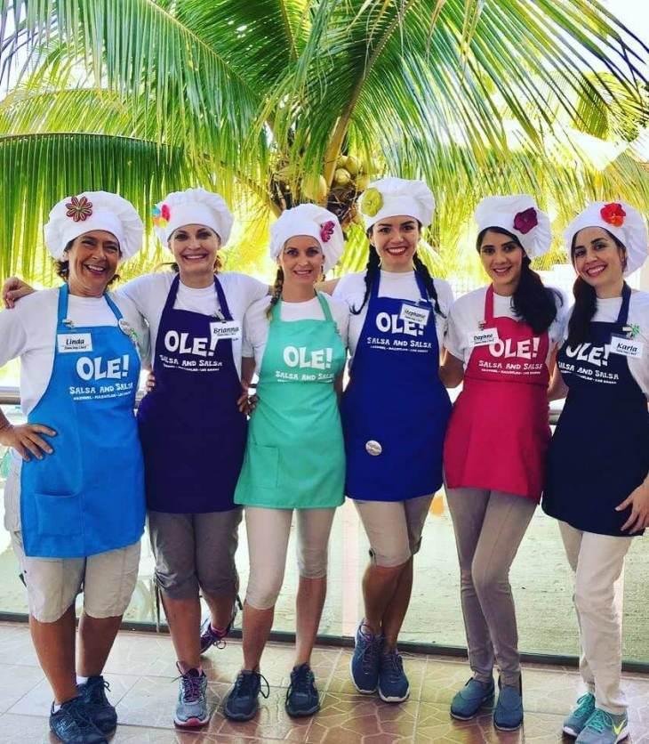 salsa and salsa tour Cozumel