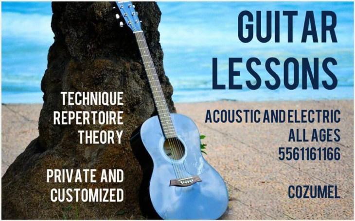 Cozumel free guitar lesson