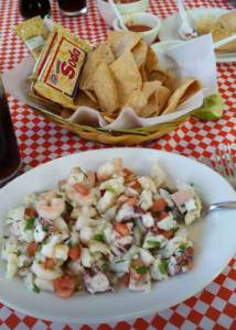 Cozumel Food Top 12 Must Eats ceviche
