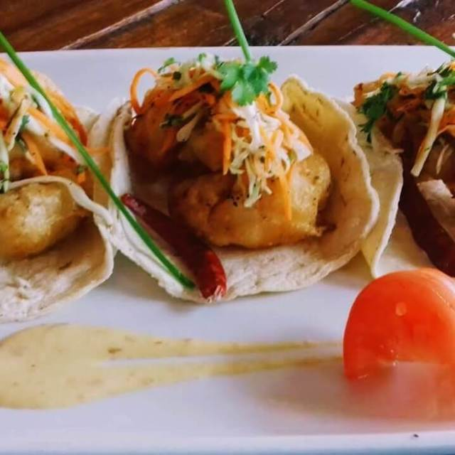 La Rumba Cozumel food plate