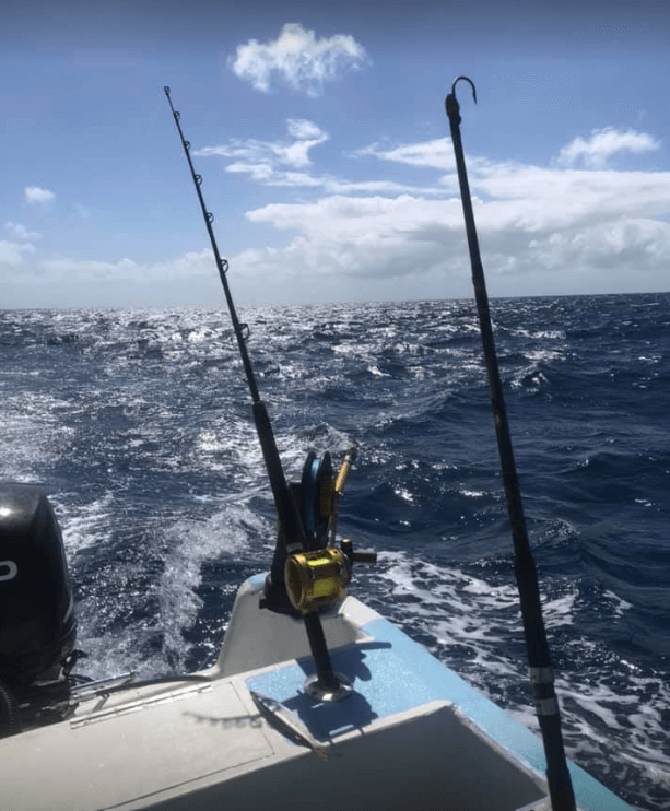 Cozumel My Cozumel Wahoo Boat Rental Fishing Poles