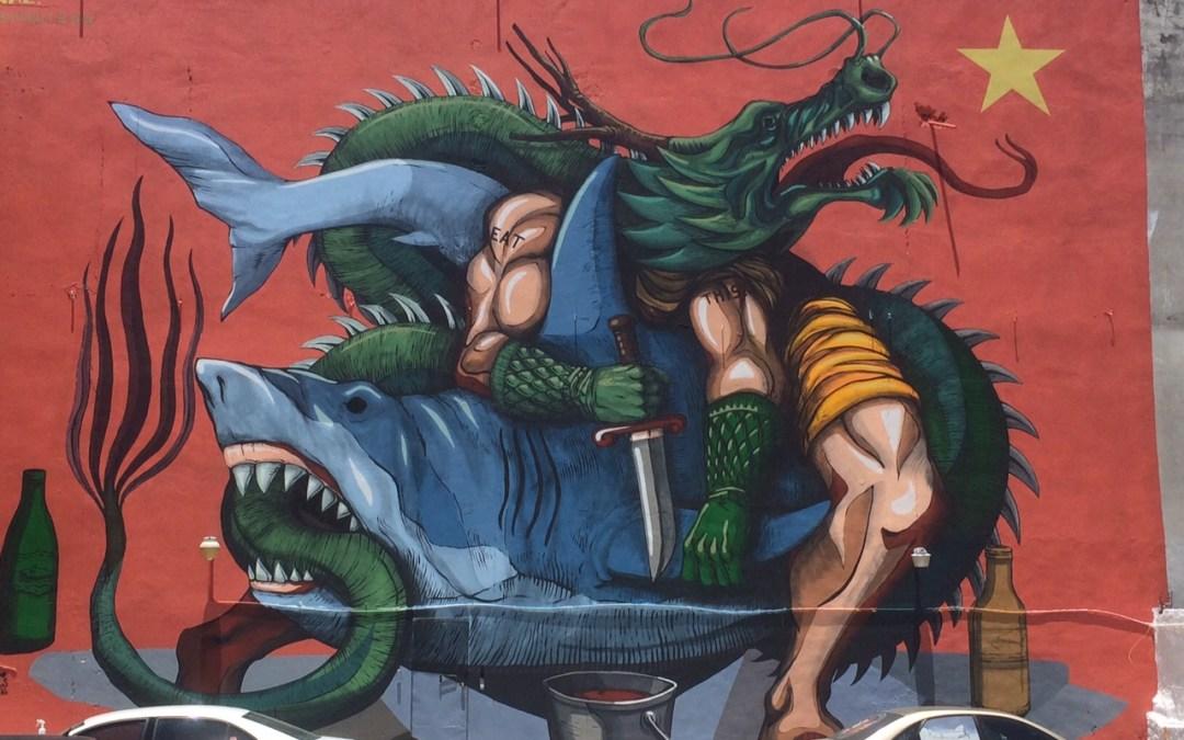 Sea Walls Mural Cozumel 6-10
