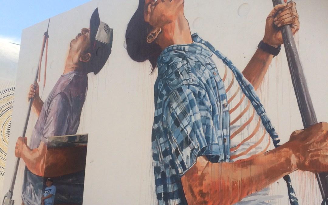 Sea Walls Mural Cozumel 21-25