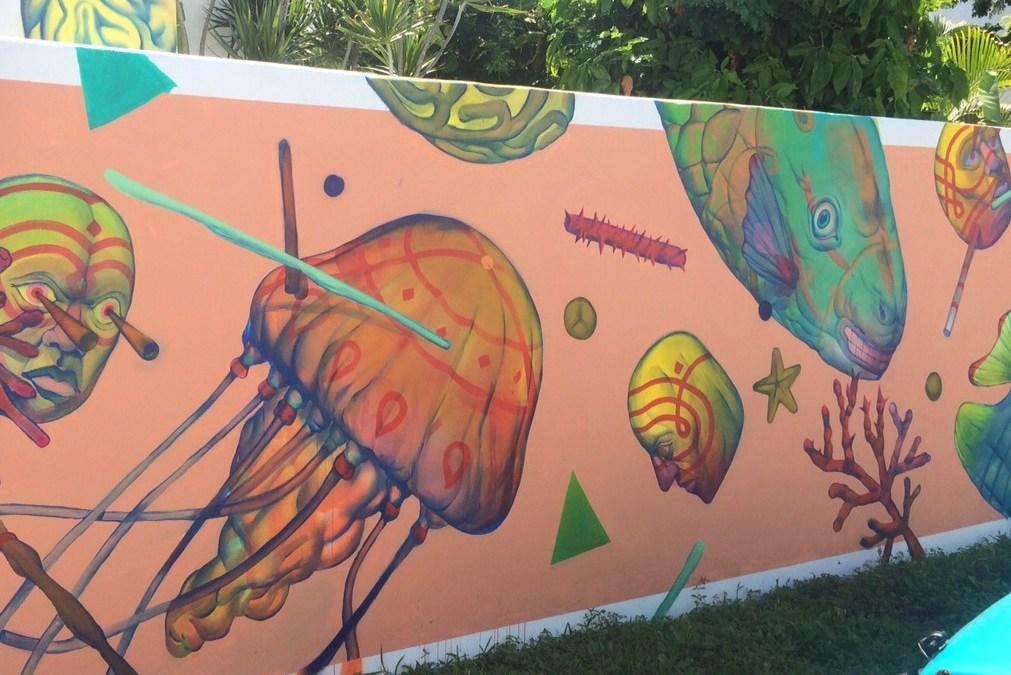 Sea Walls Mural Cozumel 26-30