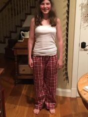 Delaney's cozy pants