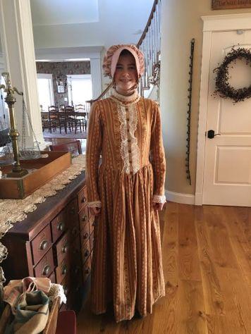Delaney's Little House on the Prairie dress