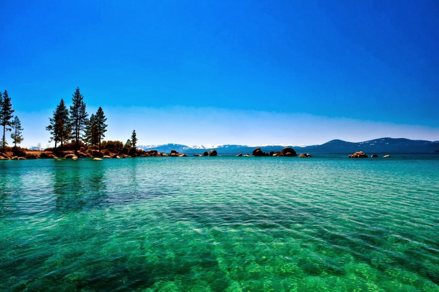 Image of Lake Tahoe for Packing Hack