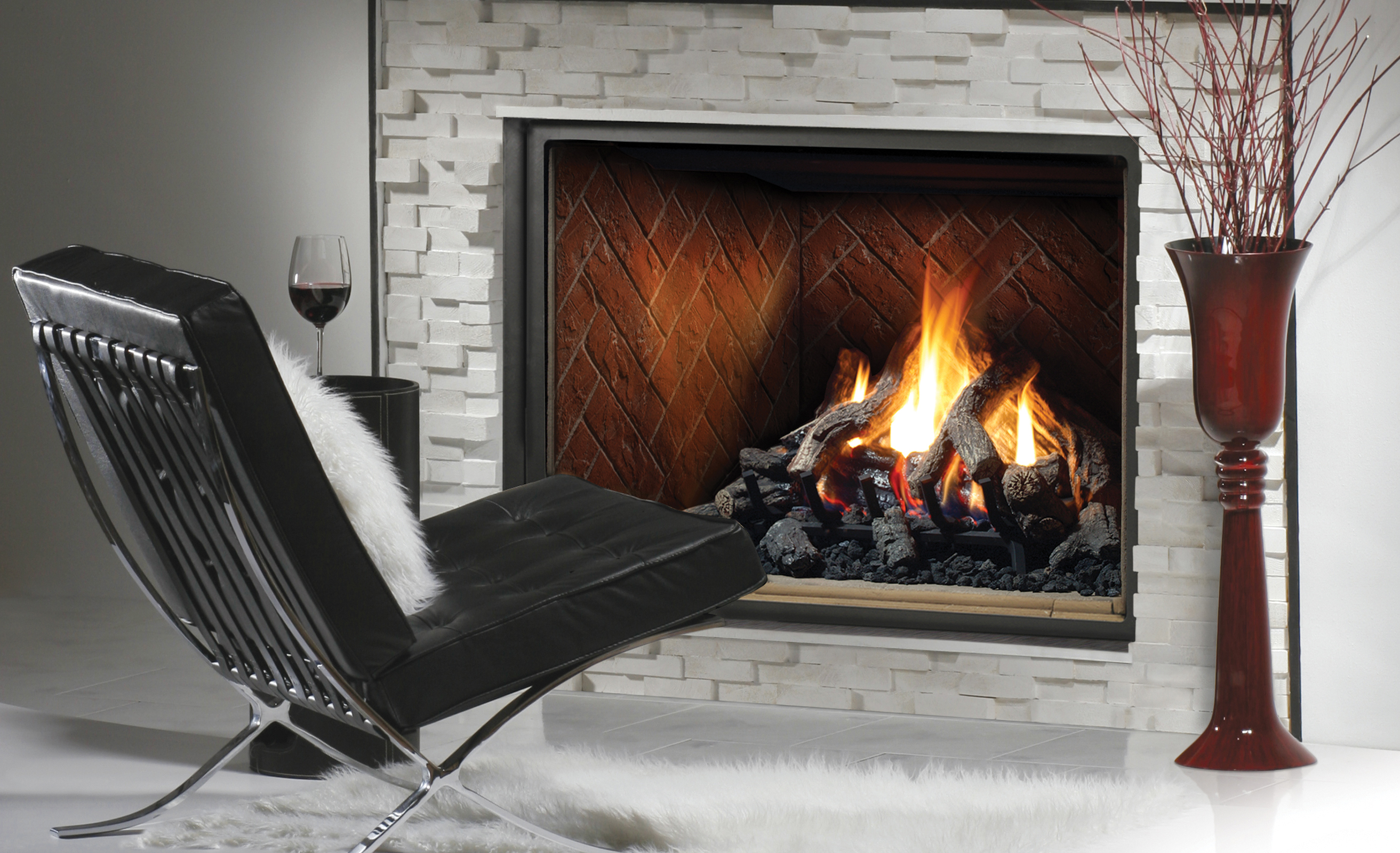 Kingsman Hbzdv Direct Vent Fireplace