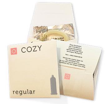 Free condom sample