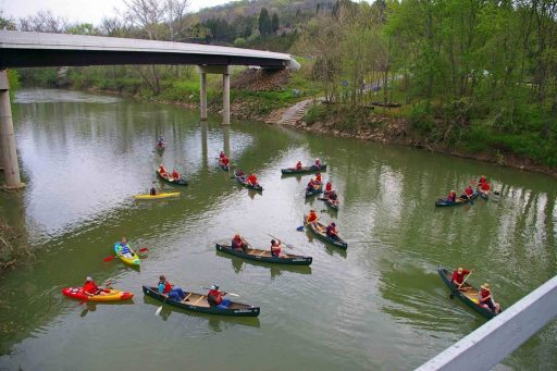 Kayakers. Spent the day, boating meeting local Craftsmen & Artisans, or plan your visit around the local Motorsports, and Music Events. Cozy Hideaway is a great place to get away and enjoy the foothills of the Appalachian Mountains located in Beautiful Eastern Adams County Ohio.