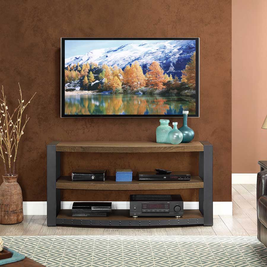 Review Whalen Furniture Santa Fe 3 In 1 Tv Stand Cozy Home 101
