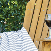 [Review] BCP Folding Wood Adirondack Lounger Chair
