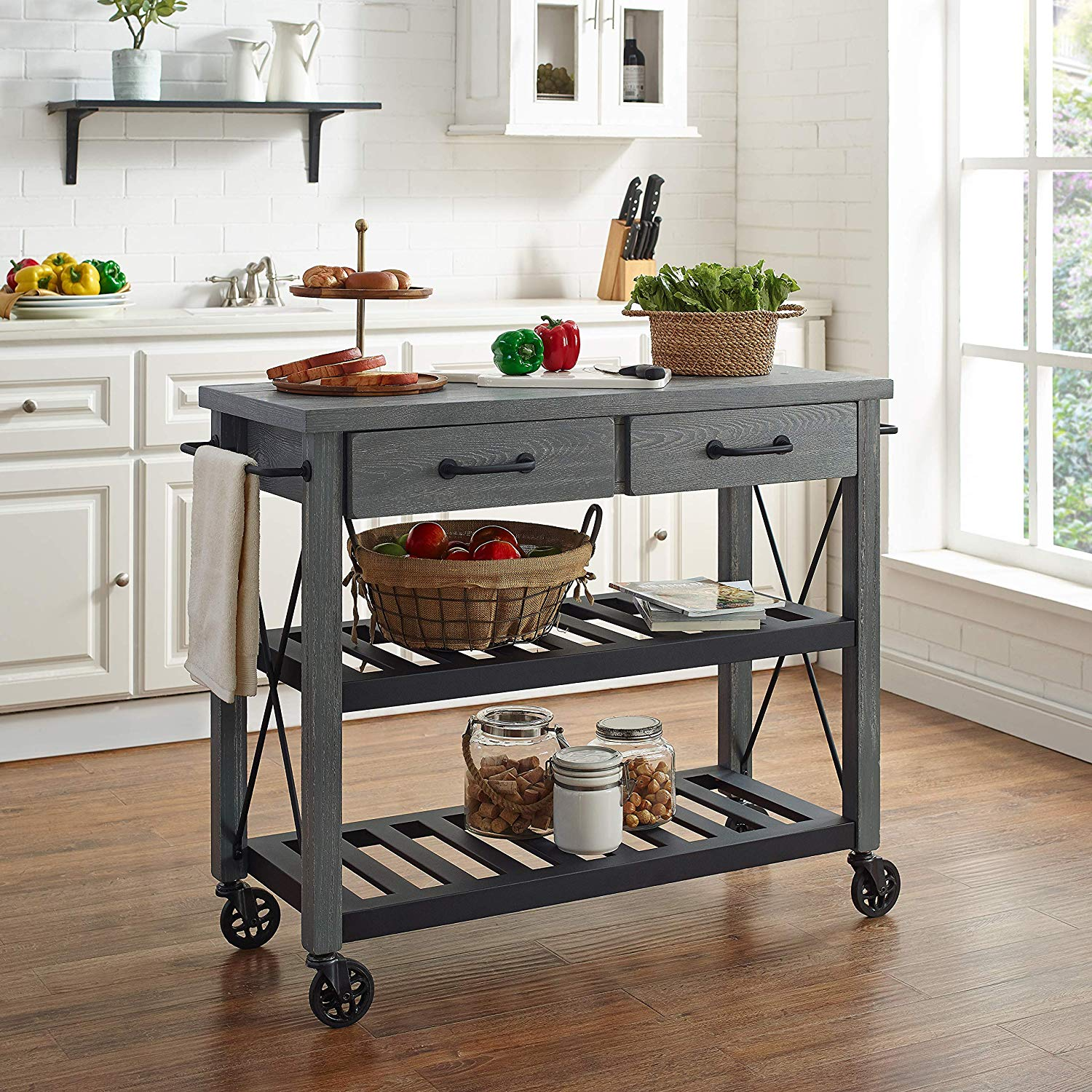 10 Best Selling Small Rolling Kitchen Islands On Amazon Cozyhome 101