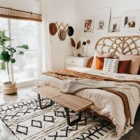 120 Absolute Stunning Boho Bedroom Designs