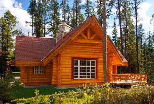 Alpine resort cabin in Jasper