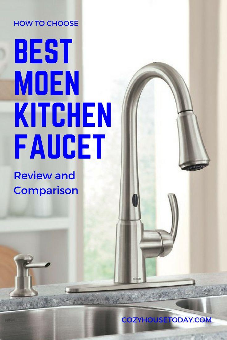 top 9 best moen faucets for kitchen