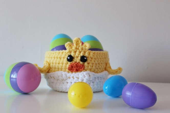 Little Chick Basket Pattern