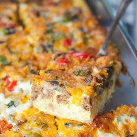 Easy Vegetarian Breakfast Casserole